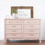 Blush Pink French Provincial Dresser Paint Color Ooh La La
