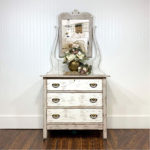 Painted Chippy Distressed Greige Dresser Paint Colors colors Simplicity and Pop the Bubbly