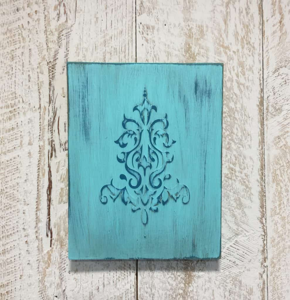 Embossed Wall Plaque