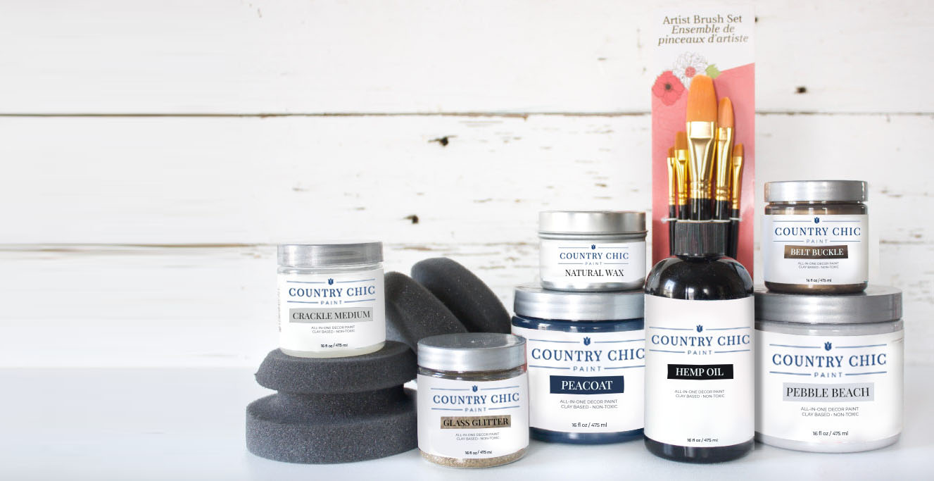 Country Chic Paint Products Hero Image
